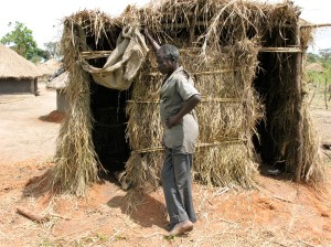 Latrine in Northern Uganda (Gulu/Amuru District)